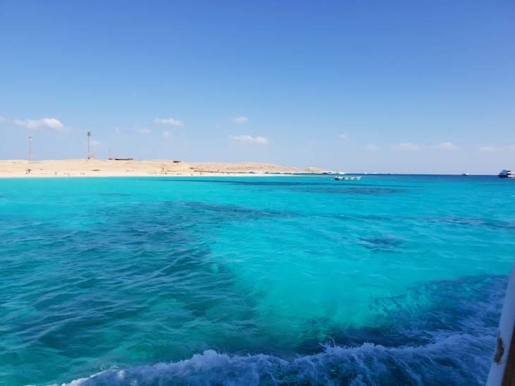 Paradise Island - Giftun Island, Hurghada - Egito © Viaje Comigo