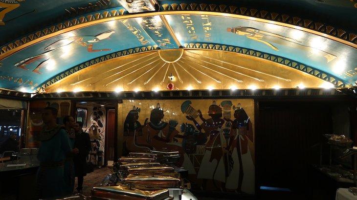 Buffet do Pharaohs - Cairo - Egito © Viaje Comigo