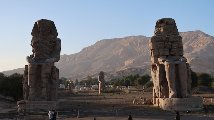 Colossos de Mêmnon - Luxor - Egito © Viaje Comigo