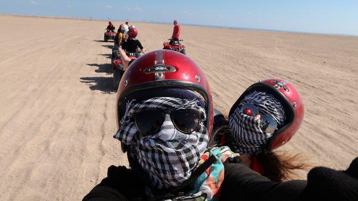 Passeios no deserto- Hurghada - Egito © Viaje Comigo