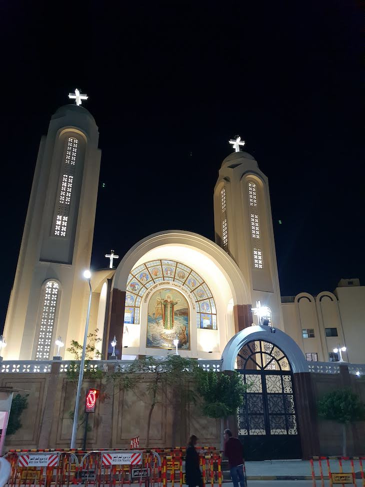 Igreja em Hurghada - Egito © Viaje Comigo