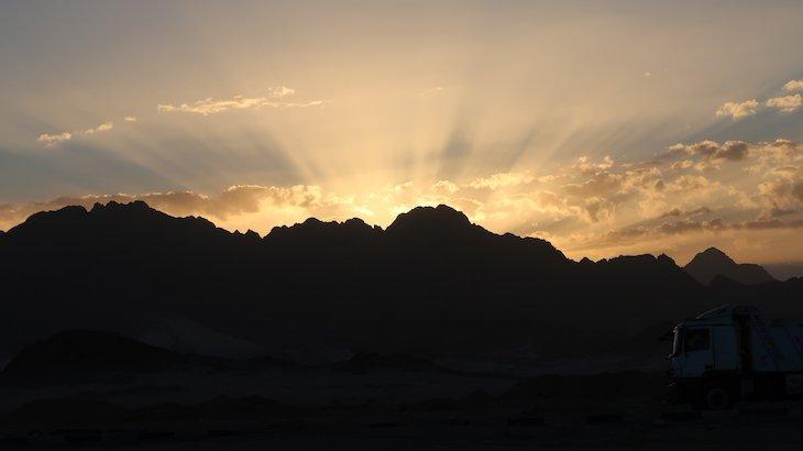 Nascer do sol em Hurghada - Egito © Viaje Comigo
