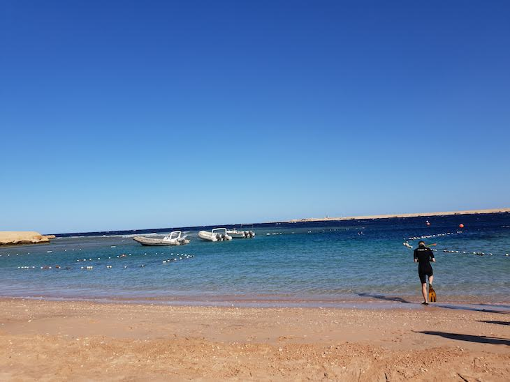 Praia de Sharm El Naga - Hurghada - Egito © Viaje Comigo