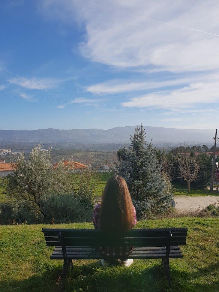 Vista da Quinta das Courelas, Fornos Algodres © Viaje Comigo
