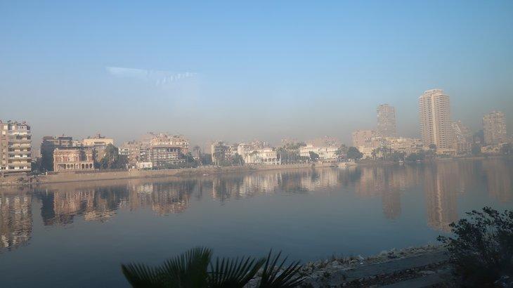 Rio Nilo em Cairo - Egito © Viaje Comigo