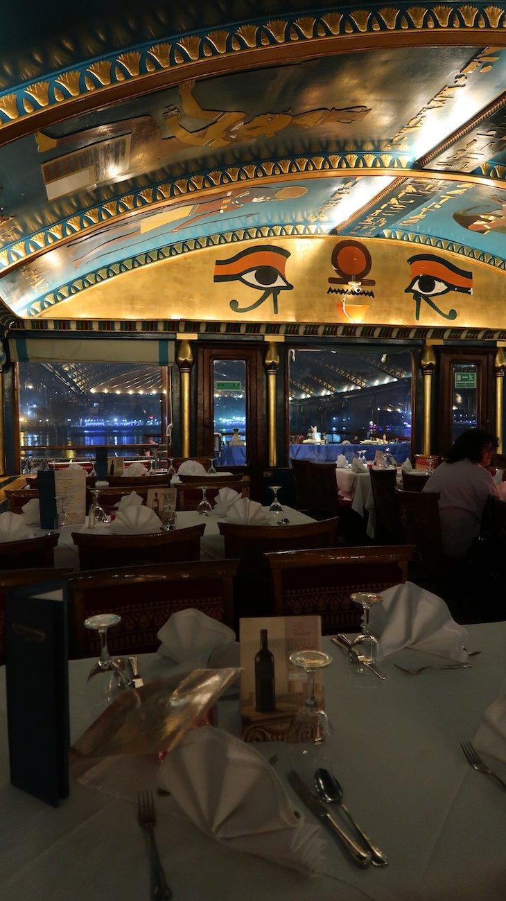 Sala do Pharaohs - Cairo - Egito © Viaje Comigo