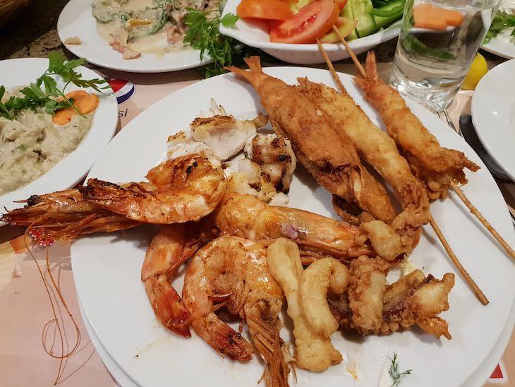 Restaurante Star Fish, Hurghada - Egito © Viaje Comigo