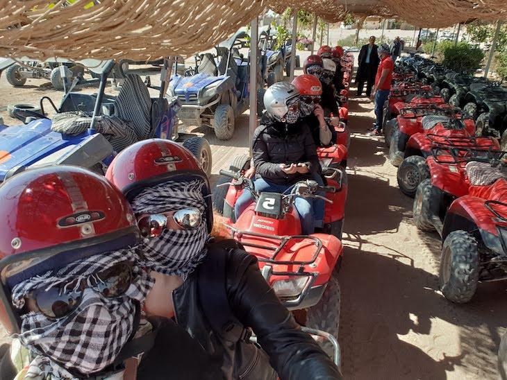 Moto 4 em Hurghada - Egito © Viaje Comigo