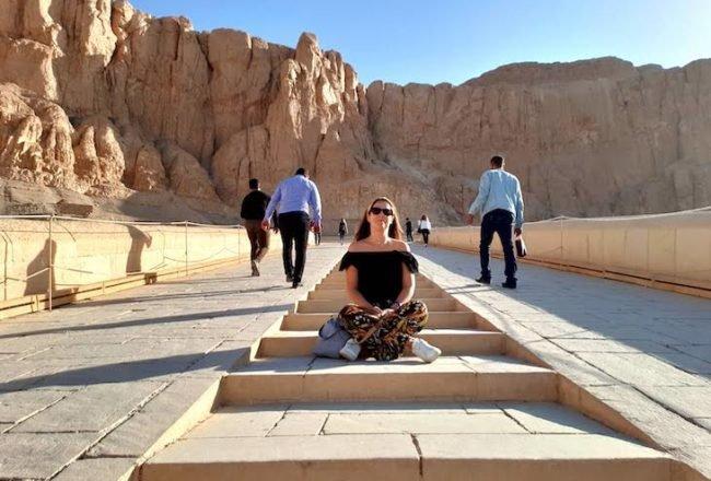 Templo de Hatshepsut - Luxor - Egito © Viaje Comigo