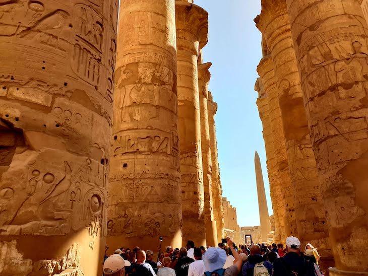 Templo de Karnak - Luxor - Egito © Viaje Comigo