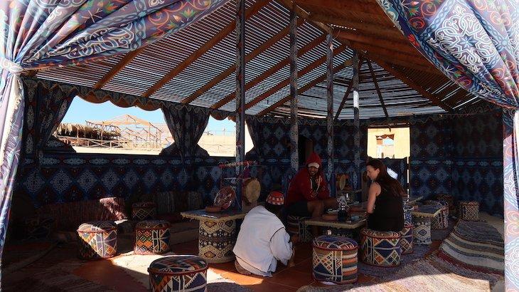 Tenda na Paradise Island - Giftun Island, Hurghada - Egito © Viaje Comigo