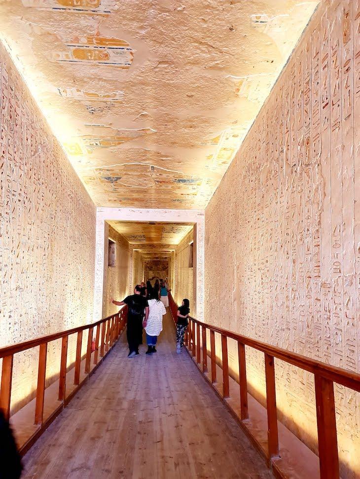 Túmulo em Vale dos Reis - Luxor - Egito © Viaje Comigo