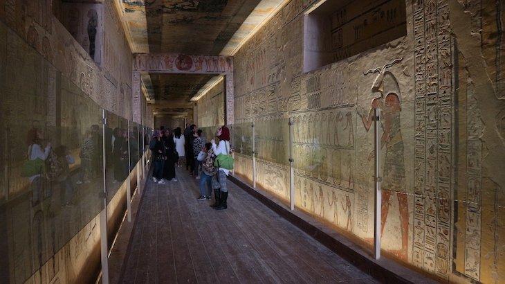 Vale dos Reis, Luxor - Egito © Viaje Comigo