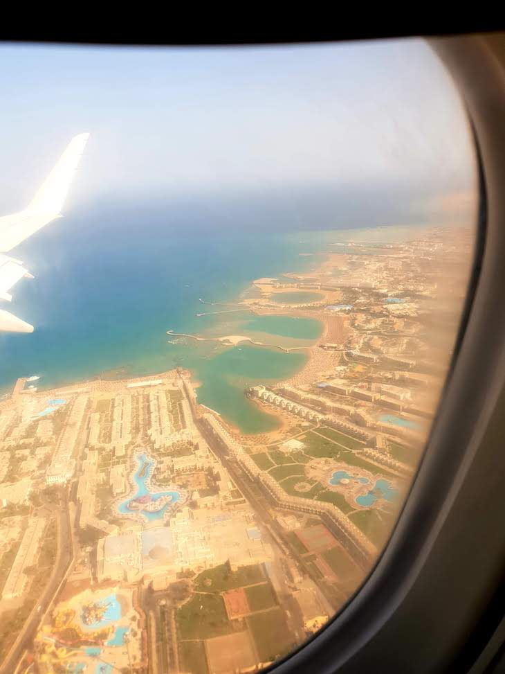 Vista sobre Hurghada - Egito © Viaje Comigo