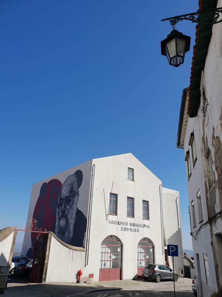 Arte Urbana nas ruas da Covilhã, Portugal © Viaje Comigo