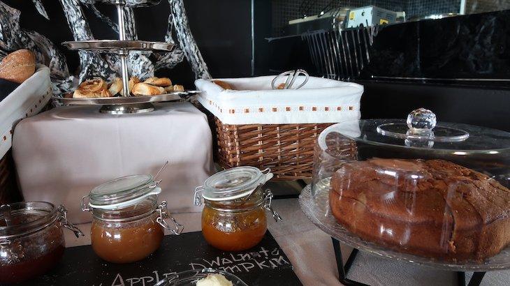 Pequeno-almoço do Farol Hotel Cascais - Portugal © Viaje Comigo