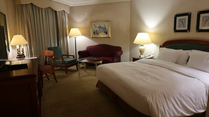 Quarto do Conrad Cairo Hotel & Casino - Egito © Viaje Comigo