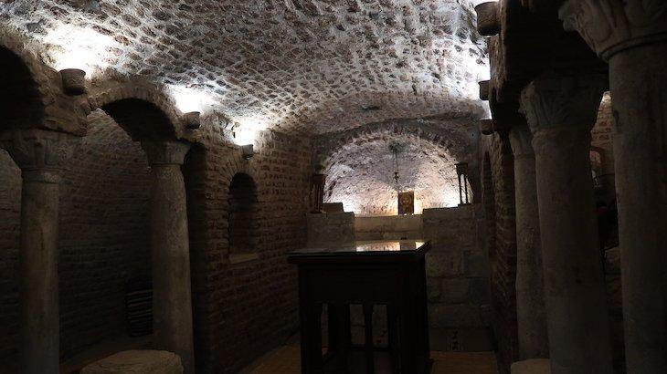 Caverna da Sagrada Família - Igreja S. Sérgio, Cairo - Egito © Viaje Comigo