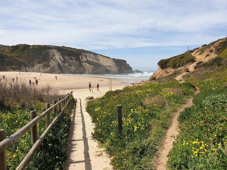 Na Praia do Carvalhal - Alentejo - Portugal © Viaje Comigo