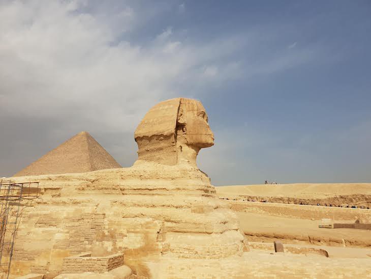 Esfinge - Pirâmides de Gizé - Egito © Viaje Comigo