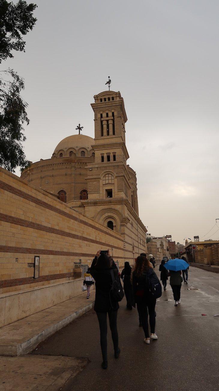 Cairo Copta - Igreja Suspensa - Cairo - Egito © Viaje Comigo