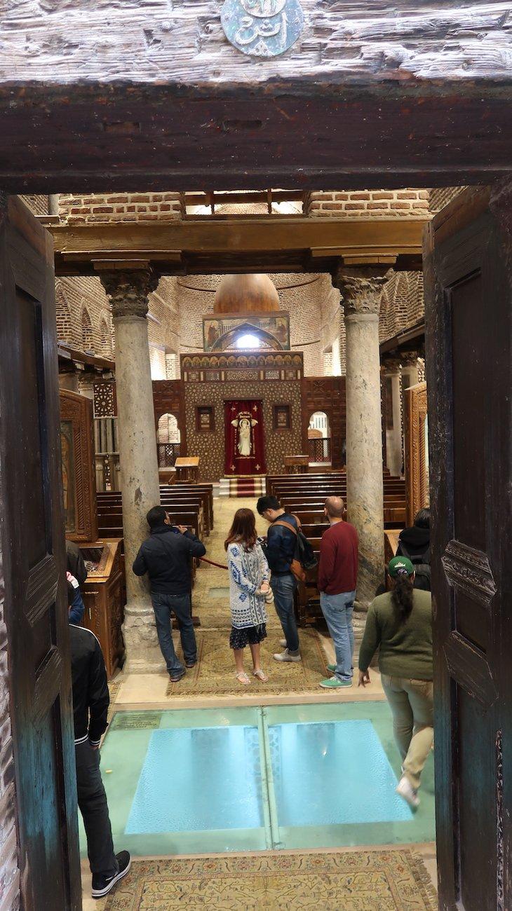 Igreja S. Sérgio, Cairo - Egito © Viaje Comigo