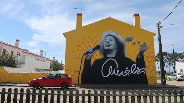 Brejão, mural da Amália - Alentejo - Portugal © Viaje Comigo