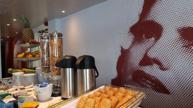 Pequeno-almoço no Navio Amália Rodrigues - CroisiEurope © Viaje Comigo