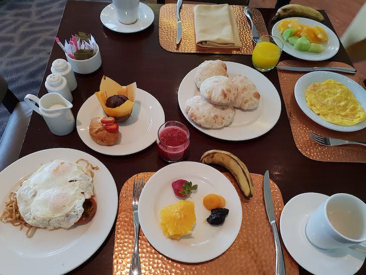 Pequeno-almoço do Conrad Cairo Hotel & Casino - Egito © Viaje Comigo