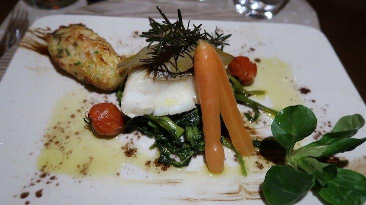 Prato de peixe no Puralã - Wool Valley Hotel & Spa - Covilhã, Portugal © Viaje Comigo