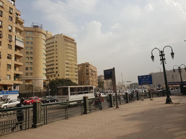 Praca Tahrir - Cairo - Egito © Viaje Comigo
