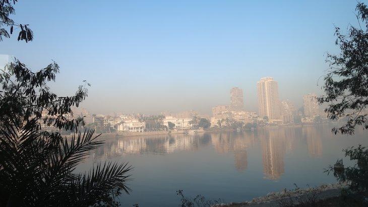 Rio Nilo - Cairo - Egito © Viaje Comigo