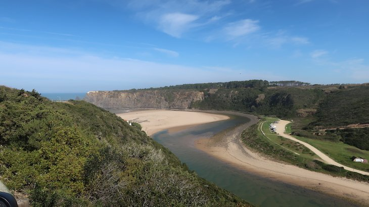 Ribeira de Odeceixe - Algarve - Portugal © Viaje Comigo