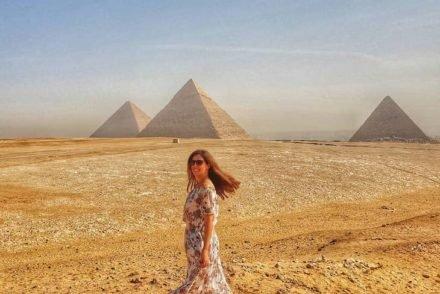 Susana Ribeiro - Pirâmides de Gizé - Egito © Viaje Comigo