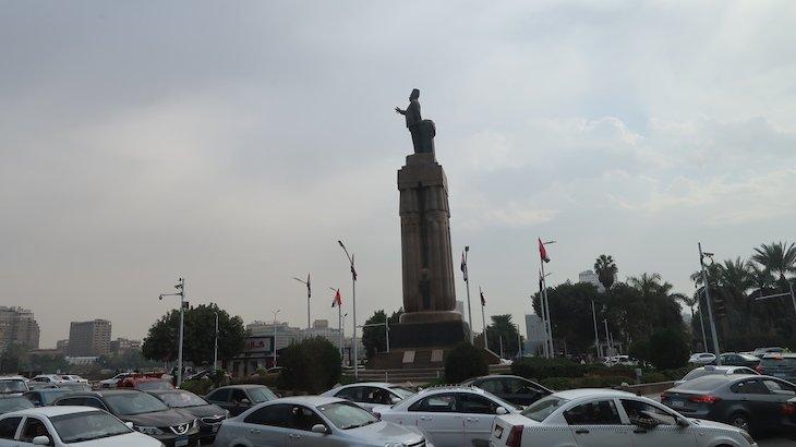 Trânsito no Cairo - Egito © Viaje Comigo