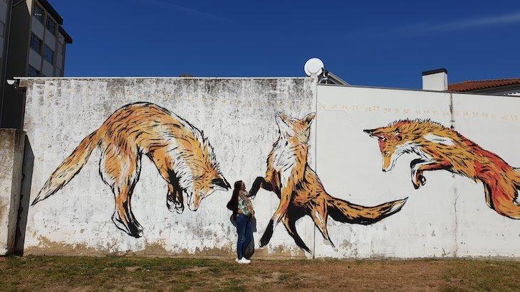 Fora das margens - Roteiro de Arte Urbana - Estarreja © Viaje Comigo