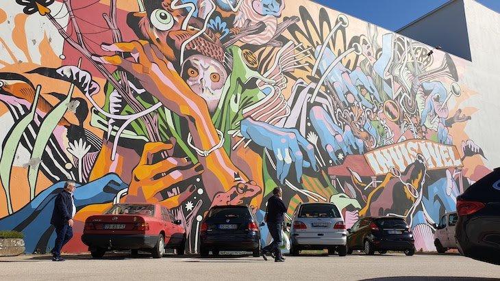 """Bicicleta Sem Freio """"A Música é uma fera invisível"""" - Roteiro de Arte Urbana - Estarreja © Viaje Comigo"""