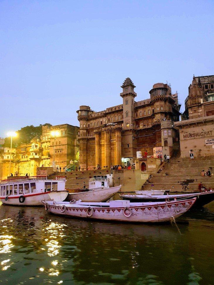 No rio Ganges - Varanasi - Índia © Viaje Comigo