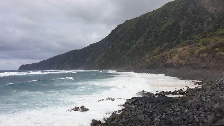 Praia da Fajã do Norte, Faial - Açores © Viaje Comigo