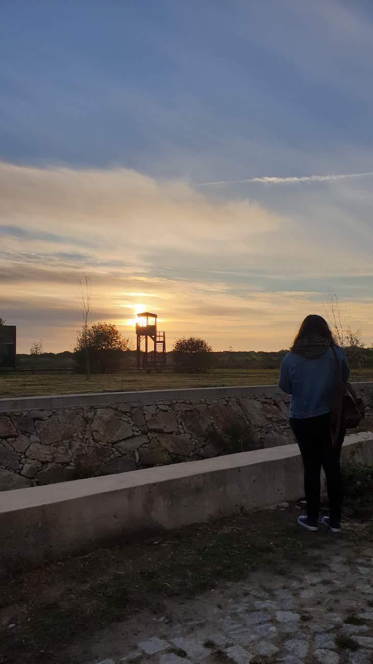 Pôr do sol - Bioria - Salreu - Estarreja © Viaje Comigo