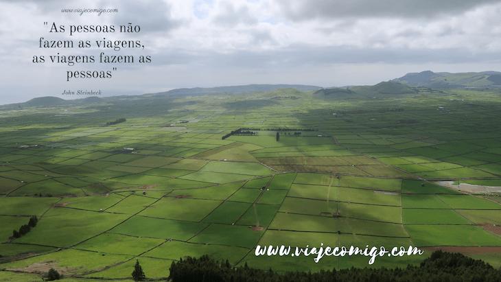 Frases de viagens: foto da ilha Terceira, Açores - John Steinbeck © Viaje Comigo