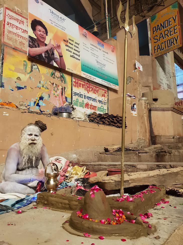 Guru, Varanasi - Índia © Viaje Comigo