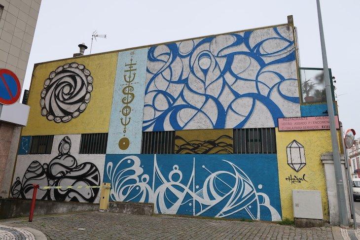 """Hazul """"Sideral"""" - Roteiro de Arte Urbana - Estarreja © Viaje Comigo"""