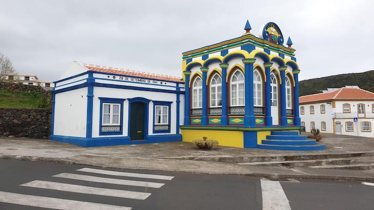 Império da Caridade - Praia da Vitória - Terceira - Açores © Viaje Comigo