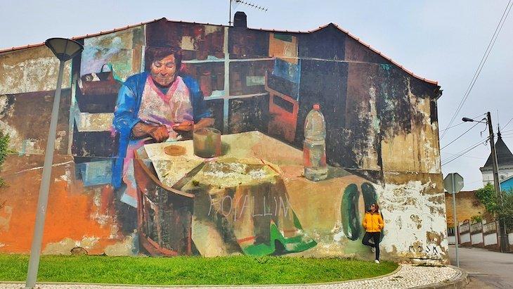 "Manolo Mesa ""Yo Vengo de toda las cosas"" - Roteiro de Arte Urbana - Estarreja © Viaje Comigo"