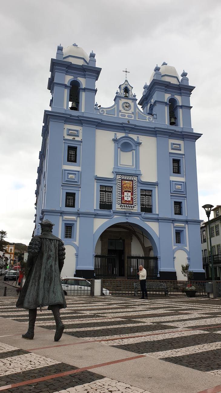 Igreja da Misericórdia e Vasco da Gama - Ilha Terceira - Açores © Viaje Comigo