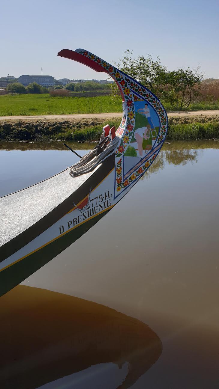 Moliceiro em Salreu - Estarreja © Viaje Comigo