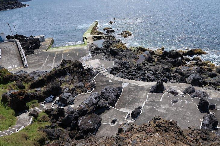 Zona Balnear das Cinco Ribeiras - Terceira - Açores © Viaje Comigo