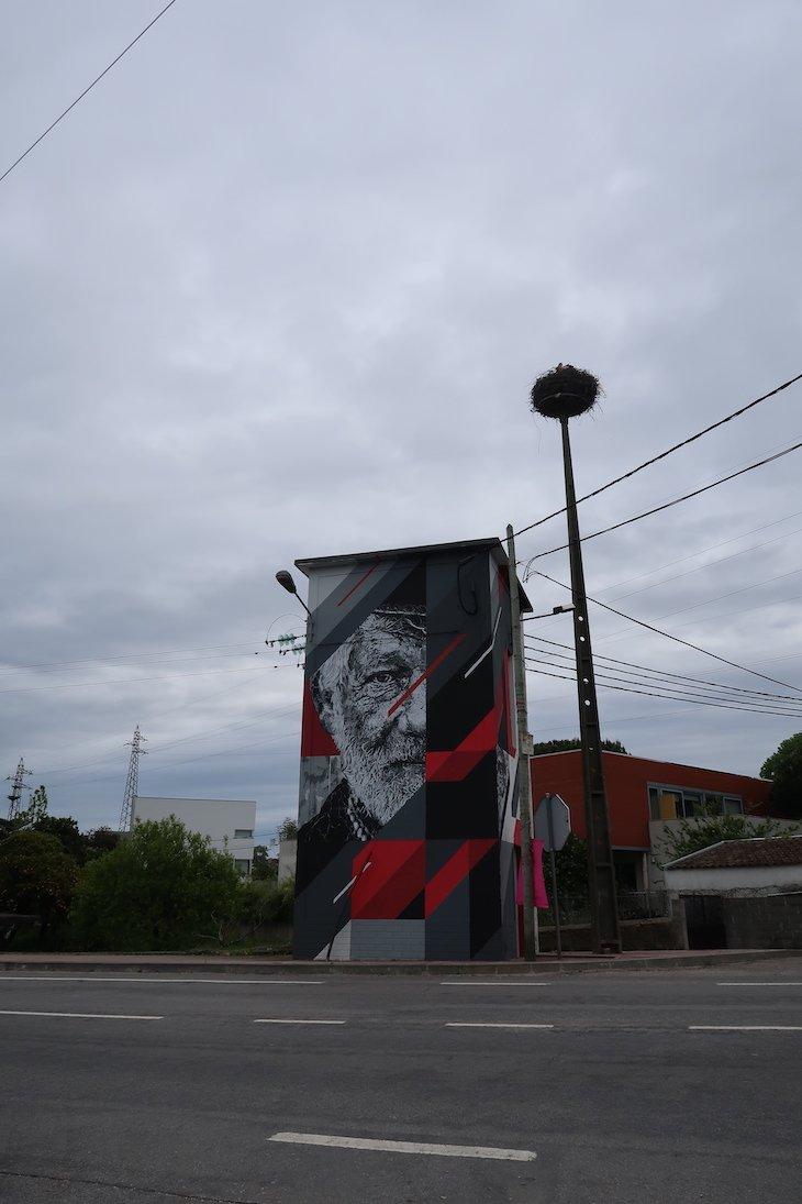 Samina - Roteiro de Arte Urbana - Estarreja © Viaje Comigo