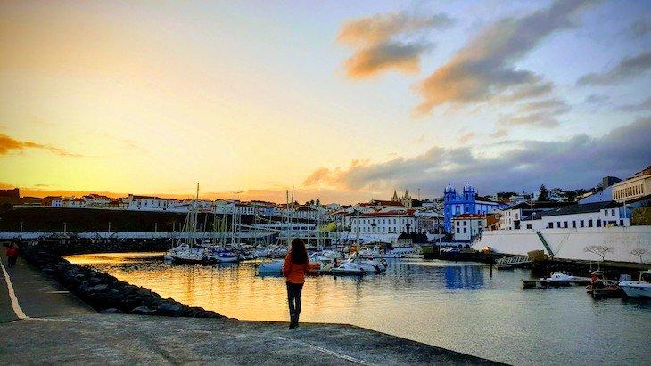 Marina de Angra do Heroísmo - Terceira - Açores © Viaje Comigo